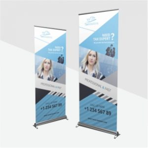 Cetak Roll Banner