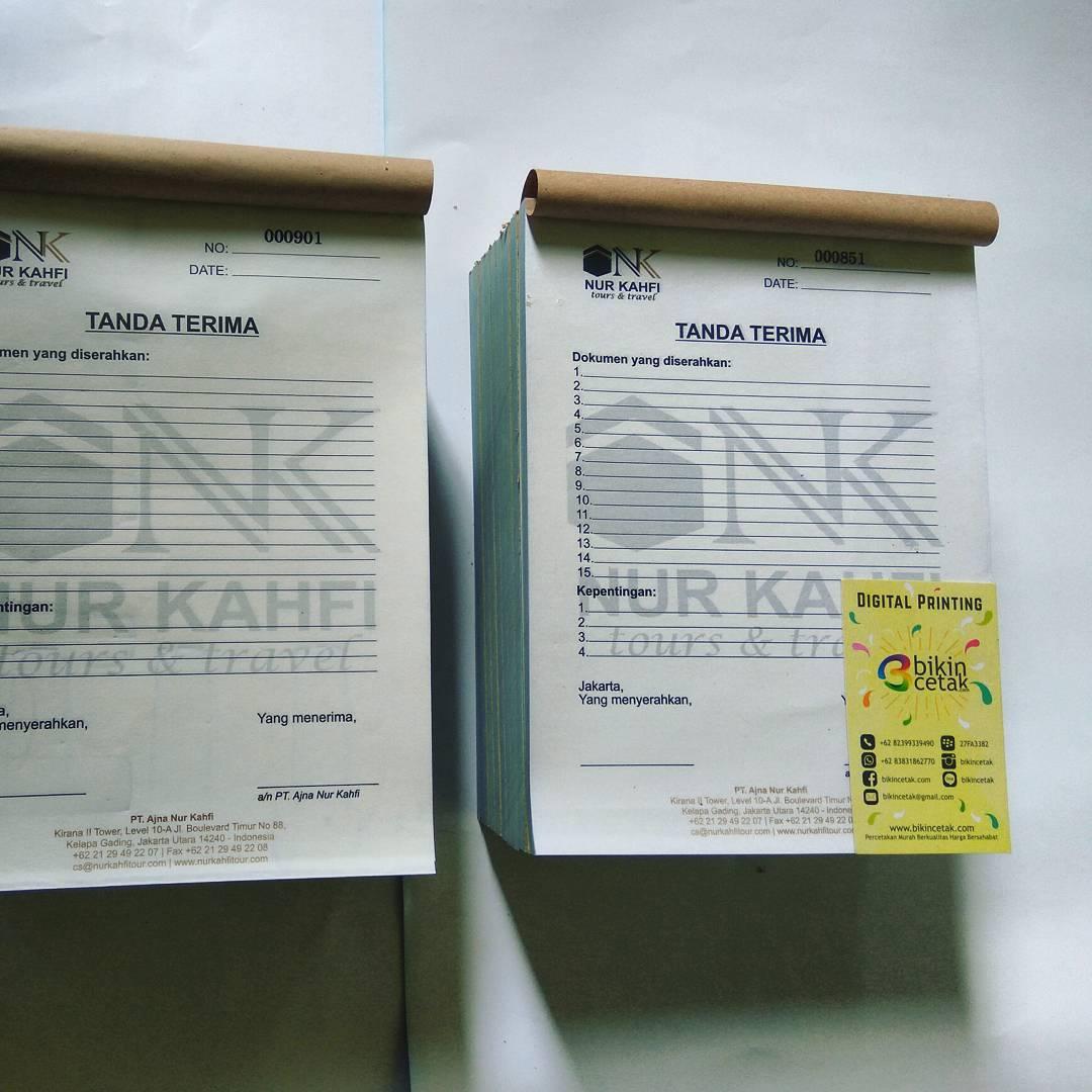 cetak nota kwitansi � percetakan murah surabaya